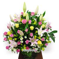 사랑합니다꽃바구니