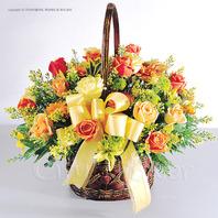 로맨틱꽃바구니