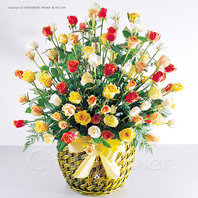 장미100송이 혼합꽃사랑