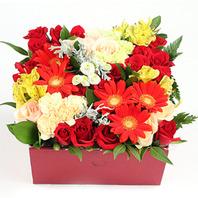 꽃상자 혼합 상자